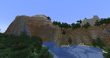 Fresh Worldgen (Hinge's Caves and Cliffs) Minecraft Data Pack