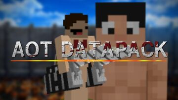 Attack on titan datapack (3D maneuver gear and titan shifters) Minecraft Data Pack