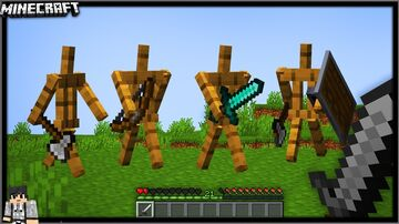ALIVE ARMOR STANDS - JohnPaulInso Minecraft Data Pack