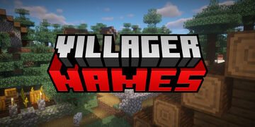 Villager Names Minecraft Data Pack