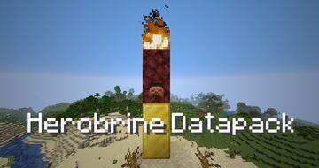 Herobrine Datapack Minecraft Data Pack