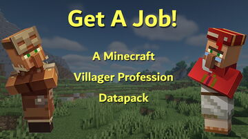 Get A Job! | Villager Profession Datapack | v0.3 Minecraft Data Pack