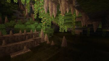 William Wythers' Caves and Cliffs add-on for Overhauled Overworld 1.17 Minecraft Data Pack