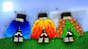 POWERED ELEMENTAL ELYTRAS - JohnPaulInso Minecraft Data Pack