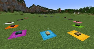 Color-Coded Warp Gates Minecraft Data Pack