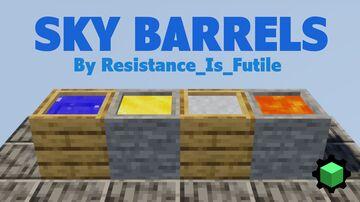 SkyBarrels Minecraft Data Pack