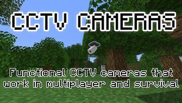 CCTV Cameras Datapack Minecraft Data Pack