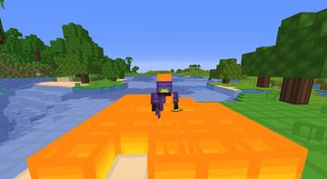 Minecraft, but being on fire drops OP Loot! Minecraft Data Pack
