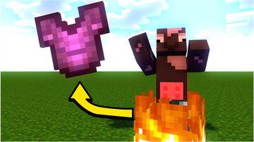 Minecraft But Fire = OP Loot Minecraft Data Pack