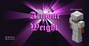 Armour Weight! Minecraft Data Pack
