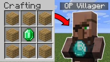 Minecraft But I Can Craft OP Villagers Minecraft Data Pack