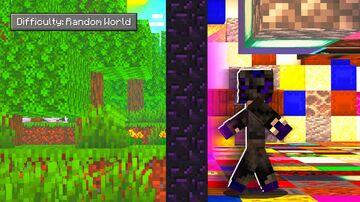 Random Blocks World Minecraft Data Pack