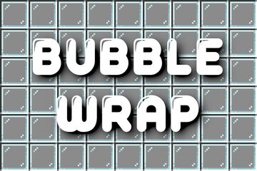 Bubble Wrap! Minecraft Data Pack