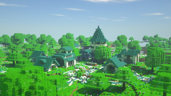 Villages can be found in the depths of Paradise