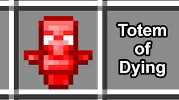 TOTEM OF DYING Minecraft Data Pack