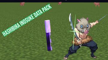 Inosuke Hashibira Blade With Skill Data Pack Minecraft Data Pack