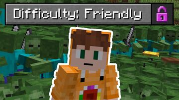 Friendly Difficulty Minecraft Data Pack