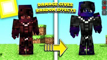 Damage Give Random Effects Minecraft Data Pack