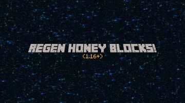 Regen Honey Blocks! Minecraft Data Pack