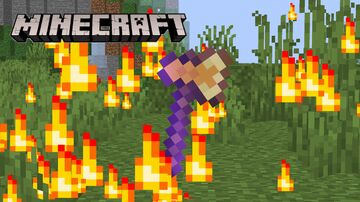 HellFire Axe Minecraft Data Pack