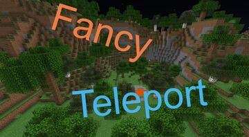 Fancy Teleport Minecraft Data Pack