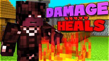 Damage Heals Minecraft Data Pack