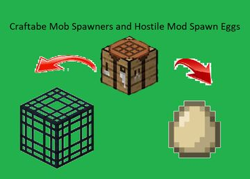 Craftable Mob Spawners Minecraft Data Pack