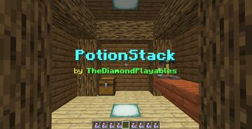 PotionStack [1.17x]: Stackable Potions! Minecraft Data Pack