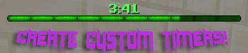 Countdown Timer Minecraft Data Pack