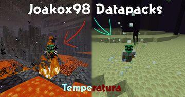 Temperatures Minecraft Data Pack