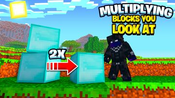 Multiplying Blocks You Look At Minecraft Data Pack