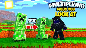 Multiplying Mobs You Look At Minecraft Data Pack