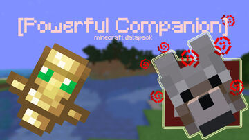 Powerful Companion | Power up your dog! Minecraft Data Pack
