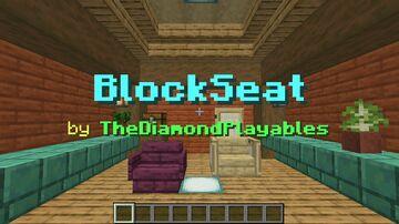 BlockSeat - Sit on any block you like! [1.17x] Minecraft Data Pack