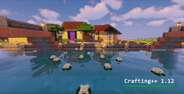 Crafting++ - A large datapack contains technics, magic, agriculture Minecraft Data Pack
