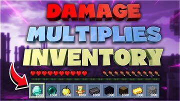 Damage Multiplies Inventory Minecraft Data Pack