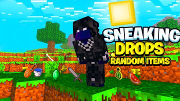 Sneaking Give Random Items Minecraft Data Pack