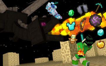Dragon Fireballs Are OP Minecraft Data Pack