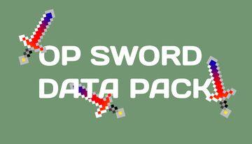 THE OP SWORD DATA PACK Minecraft Data Pack