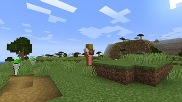 Minecraft But Mobs are able to use the Bathroom Minecraft Data Pack