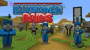 Illusioner Raids Minecraft Data Pack