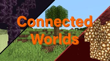 Connected Worlds Minecraft Data Pack