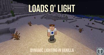 Loads o' Light [BETA 0.4] - Working Dynamic Lighting Datapack Minecraft Data Pack