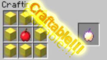 Craftable EnchantedGoldenApples Minecraft Data Pack