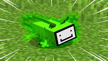 DREAM AXOLOTL Minecraft Data Pack