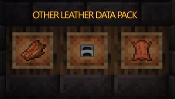 Other leather data pack Minecraft Data Pack