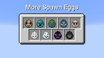 More Spawn Eggs Minecraft Data Pack