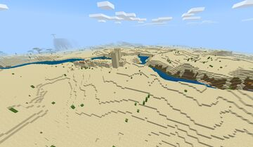 ONLY DESERT BIOME MOD Minecraft Data Pack