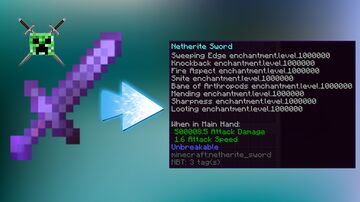 Minecraft But You Have Op Tools And Armor By Shadowbrine15 Minecraft Data Pack