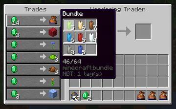 Wandering Bundler Minecraft Data Pack